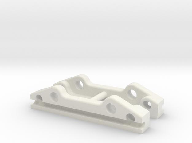 YZ2 & YZ4 - Sway Bar Holder in White Natural Versatile Plastic