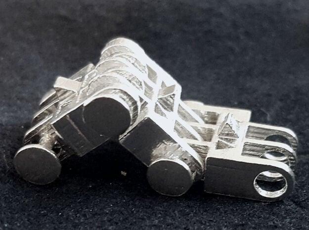 Continious track in Natural Silver (Interlocking Parts)