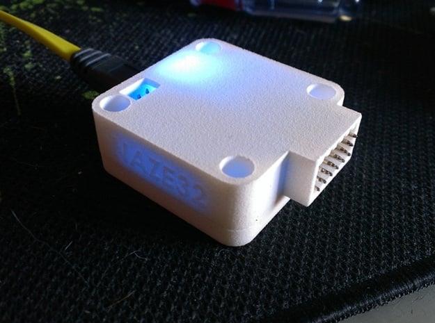 Naze32Rev5 Upper RightAnglePins -Beta in White Natural Versatile Plastic