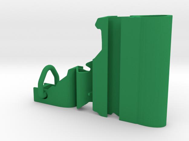 Idaho Keychain in Green Processed Versatile Plastic