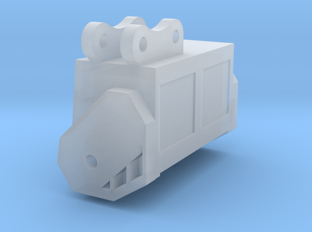 1:50 Mulching head for Cat 308C.  in Smooth Fine Detail Plastic