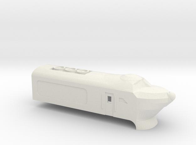 White Engine - Kato 11-105 in White Natural Versatile Plastic