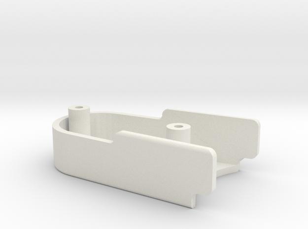 Metroboard - Timing Belt Cover in White Natural Versatile Plastic