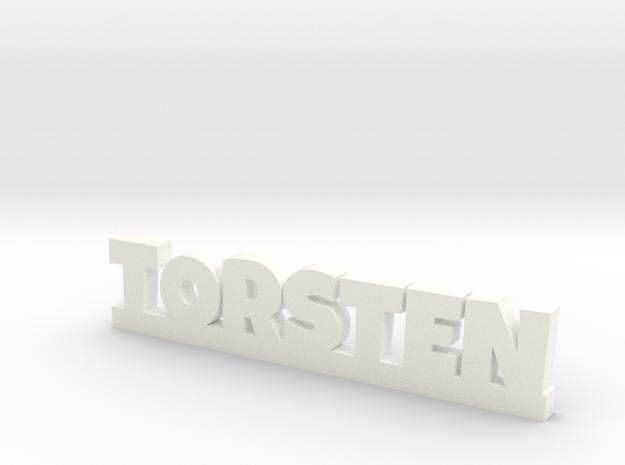 TORSTEN Lucky in White Processed Versatile Plastic