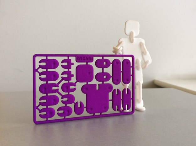 Credit Card Action Figure
