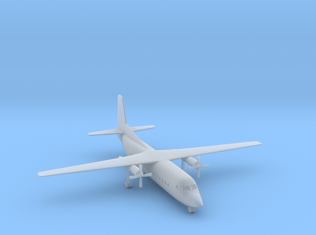 1/500 Fokker F27 Friendship in Smooth Fine Detail Plastic