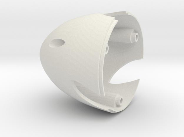 Dens Spinner 3 Blade in White Natural Versatile Plastic