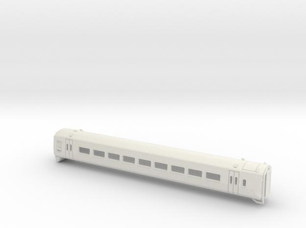 Class 158 version 1 TT in White Natural Versatile Plastic