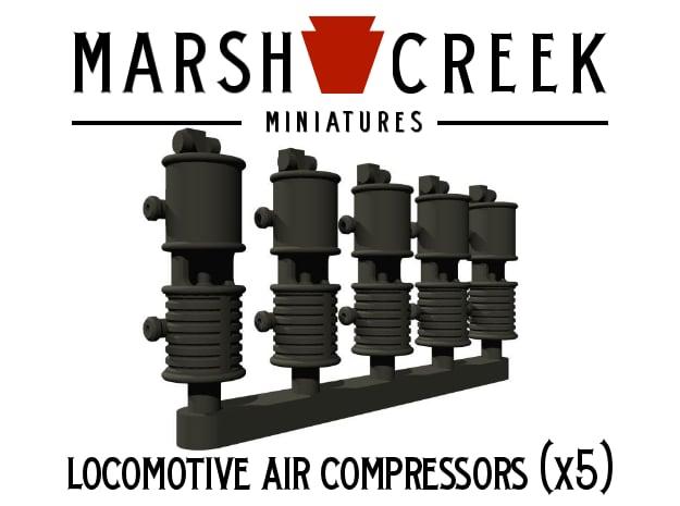 HOn30 Locomotive Air Compressor