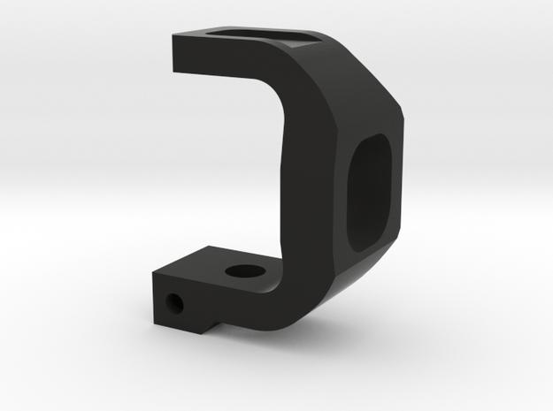 TRF - ARS (RIGHT) REAR HUB (PROTOTYPE)  in Black Natural Versatile Plastic