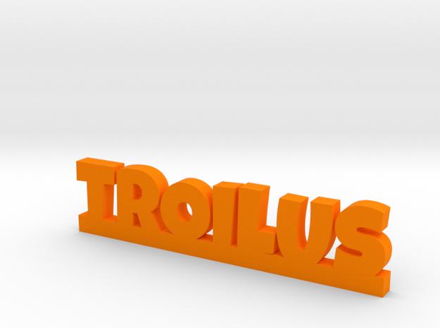 TROILUS Lucky in Orange Processed Versatile Plastic