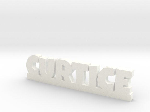 CURTICE Lucky in White Processed Versatile Plastic