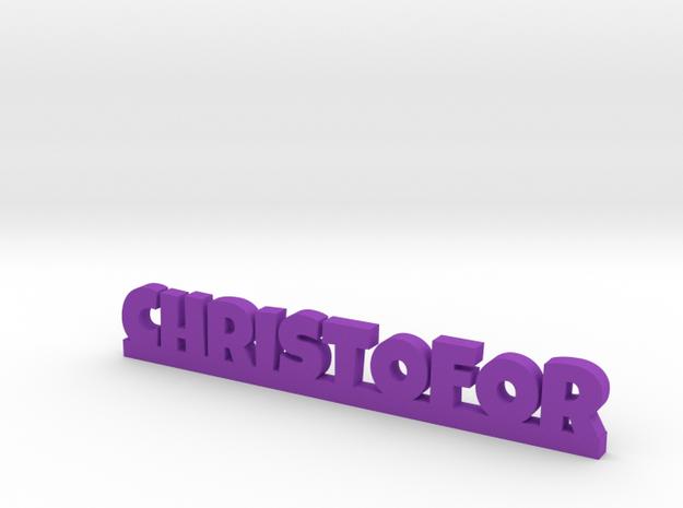 CHRISTOFOR Lucky in Purple Processed Versatile Plastic