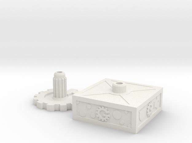 Mystery Bot Base Set in White Natural Versatile Plastic