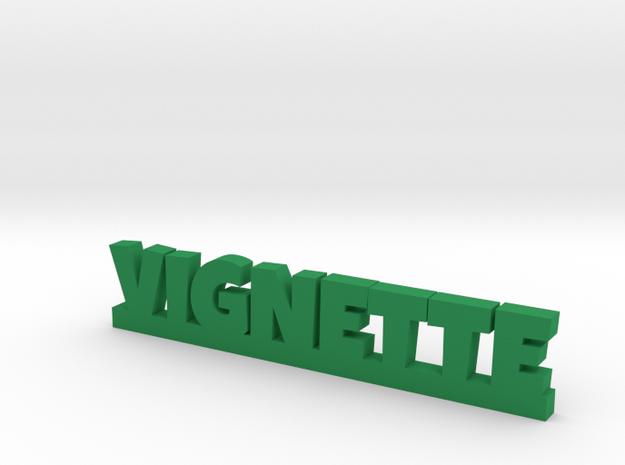 VIGNETTE Lucky in Green Processed Versatile Plastic