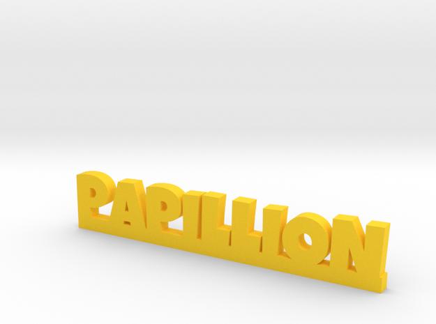 PAPILLION Lucky in Yellow Processed Versatile Plastic