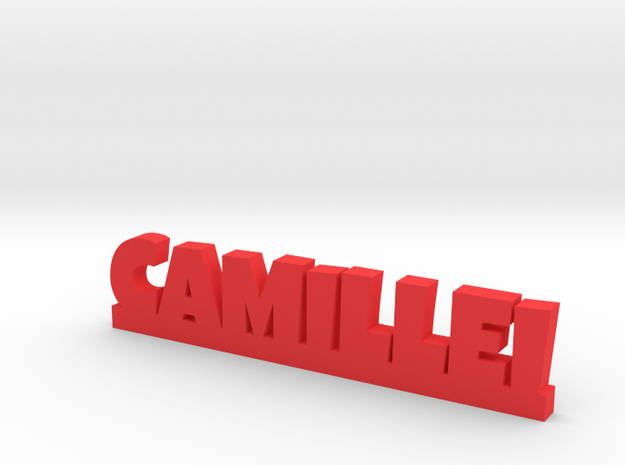 CAMILLEI Lucky in Red Processed Versatile Plastic