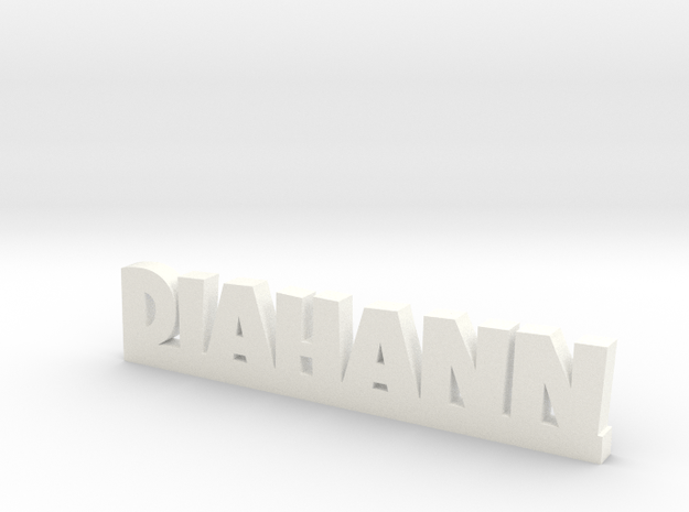 DIAHANN Lucky in White Processed Versatile Plastic