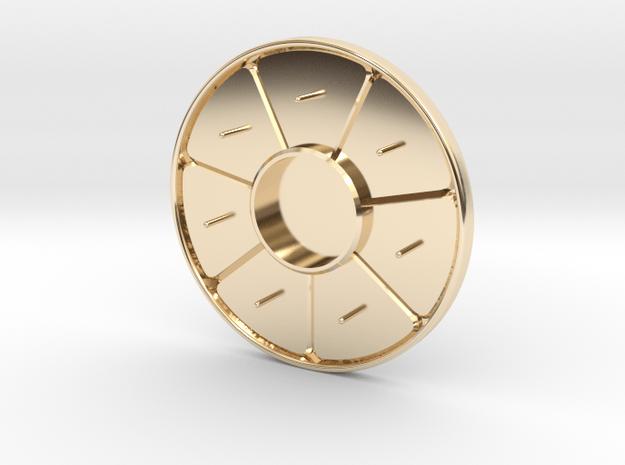Hat Jewel Dorma in 14k Gold Plated Brass