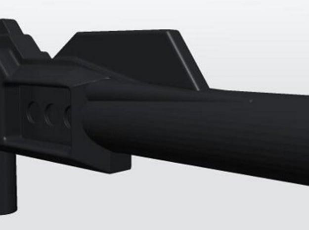 Nightbeat Small Ear Gun Upscaled in Black Natural Versatile Plastic