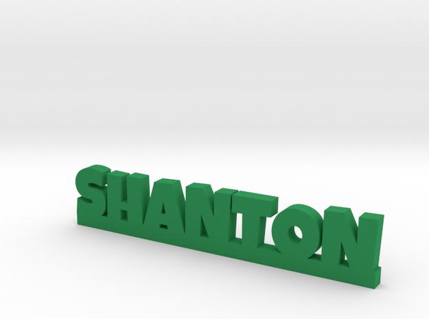 SHANTON Lucky in Green Processed Versatile Plastic