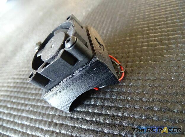 Turbo Fan Booster for 30mm fans in Black Natural Versatile Plastic