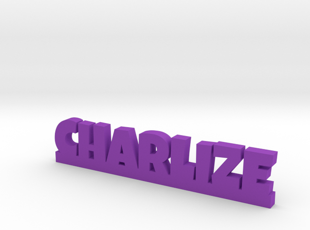 CHARLIZE Lucky in Purple Processed Versatile Plastic