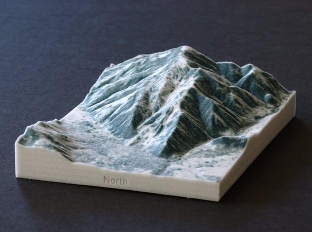 Aspen in Winter, Colorado, USA, 1:50000 in Full Color Sandstone