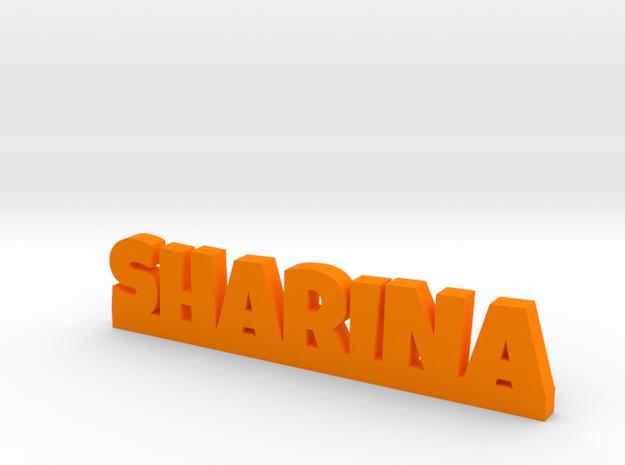 SHARINA Lucky in Orange Processed Versatile Plastic