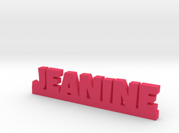 JEANINE Lucky in Pink Processed Versatile Plastic