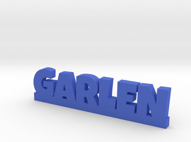 GARLEN Lucky in Blue Processed Versatile Plastic