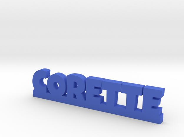 CORETTE Lucky in Blue Processed Versatile Plastic