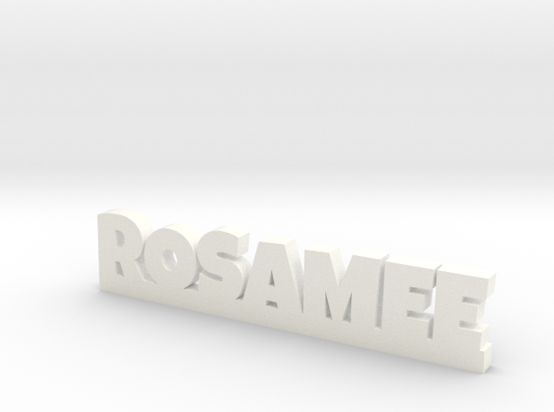 ROSAMEE Lucky in White Processed Versatile Plastic