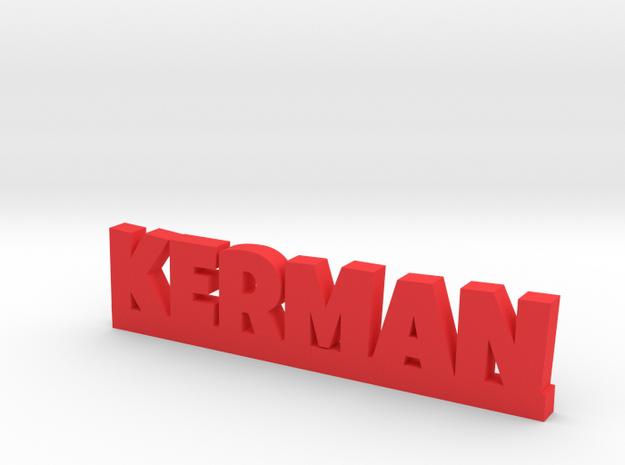 KERMAN Lucky in Red Processed Versatile Plastic