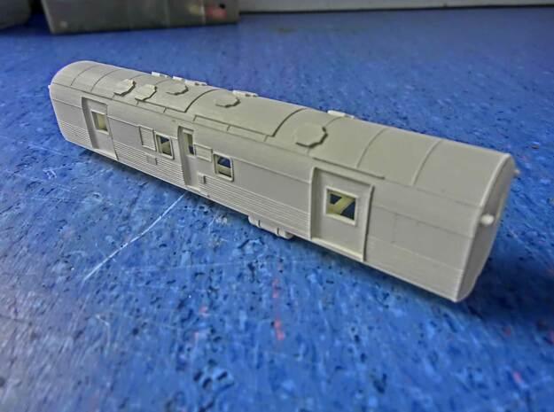 NZ120 Fs Class (Steam Heat Van) in Smooth Fine Detail Plastic
