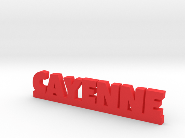 CAYENNE Lucky in Red Processed Versatile Plastic
