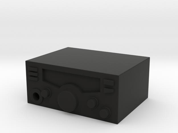 1/10 SCALE CB Radio in Black Natural Versatile Plastic
