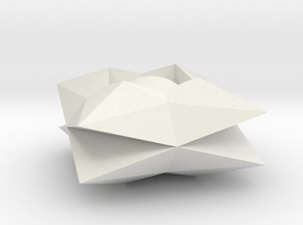 Ghost in White Natural Versatile Plastic