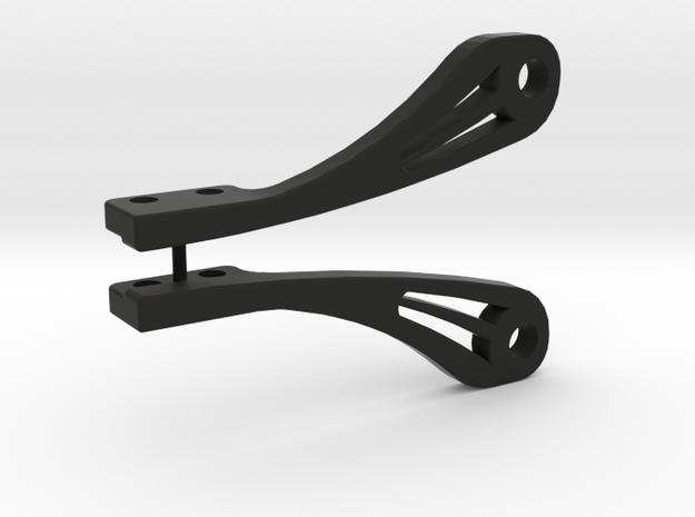 1/10 Dropdown Light Bar Mount By VS Customs in Black Natural Versatile Plastic
