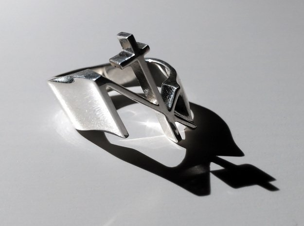 NTK Ring in Polished Silver