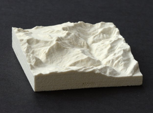 3''/7.5cm Oberland Peaks, Switzerland, Sandstone in Natural Sandstone