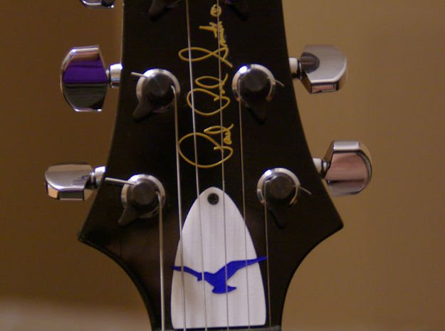 Truss Rod Cover for PRS Guitar - Cover in White Natural Versatile Plastic