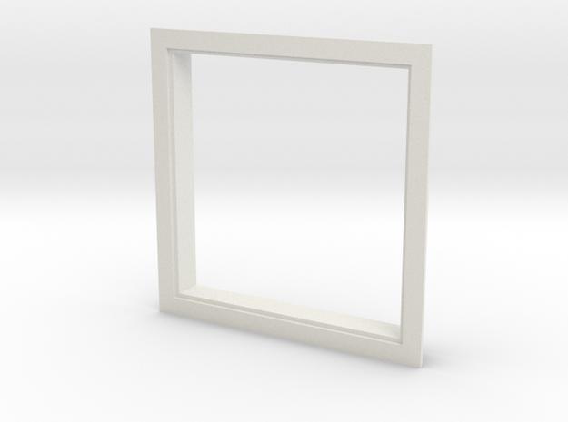 Window, 54in X 54in, Single Pane in White Natural Versatile Plastic