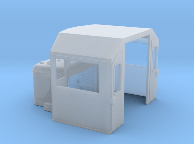 DC Cab in Smooth Fine Detail Plastic