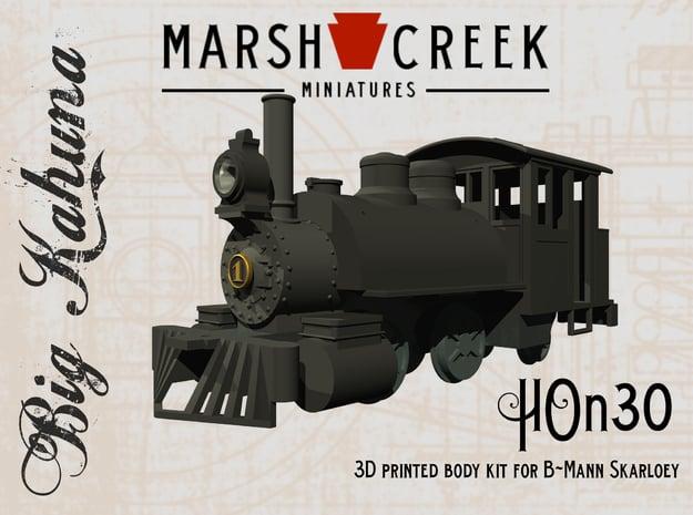 HOn30 0-4-2 Locomotive BIG KAHUNA