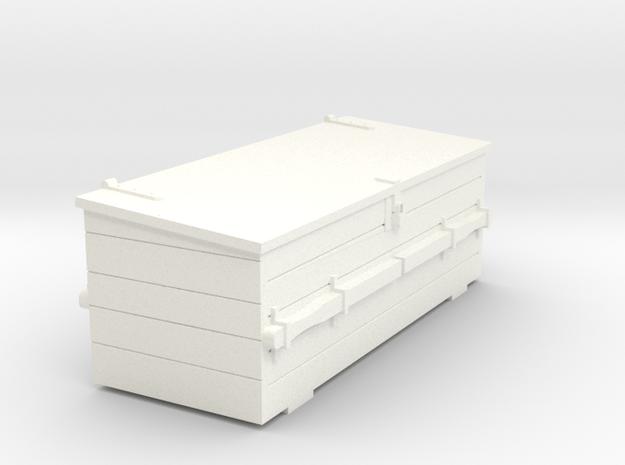 S1-283      Rottenkiste in White Processed Versatile Plastic