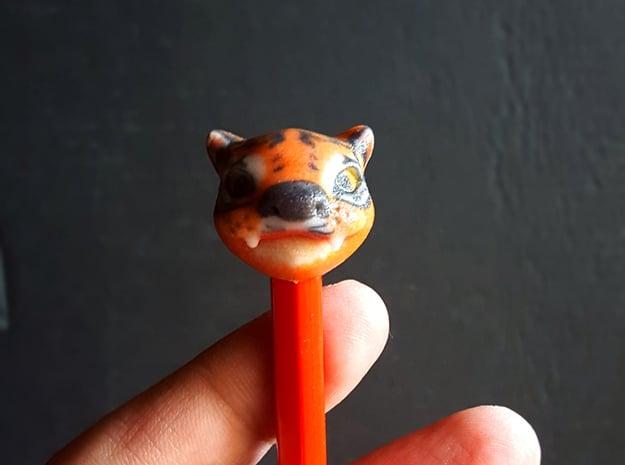 Tiger in Full Color Sandstone
