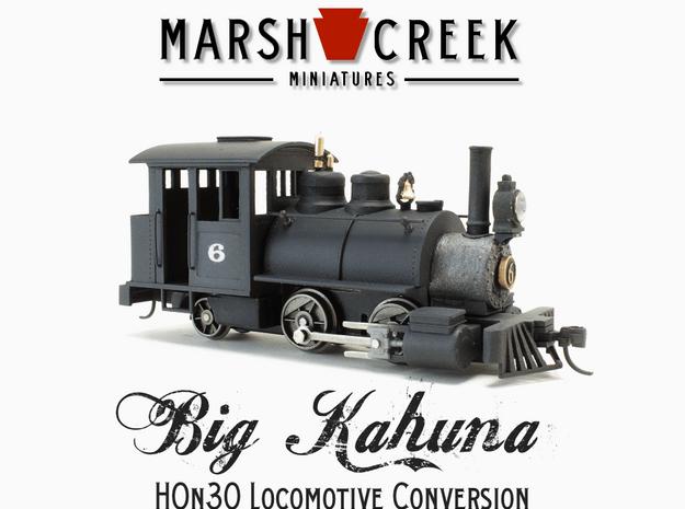 HOn30 0-4-2 Locomotive BIG KAHUNA in Smoothest Fine Detail Plastic