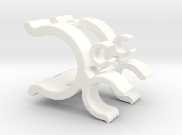 Beta Xtrainer Multi-Tool Holder Standard in White Processed Versatile Plastic