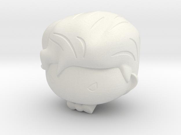 Cute Joker  in White Natural Versatile Plastic
